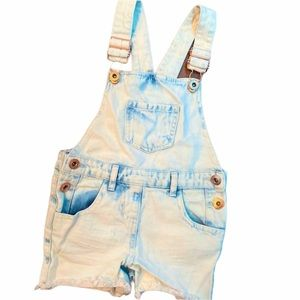NEW Toddler Light wash Overalls- 4T
